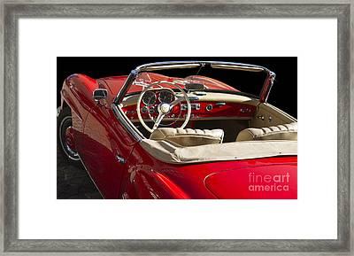 Classic Mercedes Benz 190 Sl 1960 Framed Print by Heiko Koehrer-Wagner