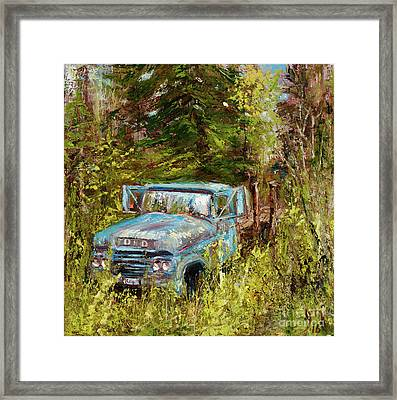 Classic Montana Landscape Framed Print