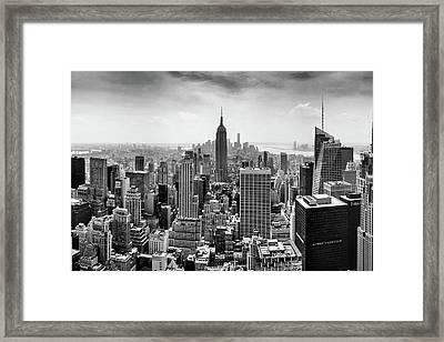 Classic New York  Framed Print