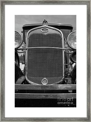 Framed Print featuring the photograph Classic Old Ford Car Model A by Edward Fielding
