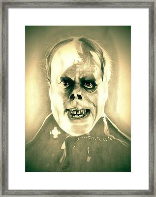 Classic Phantom Of The Opera Framed Print by Fred Larucci