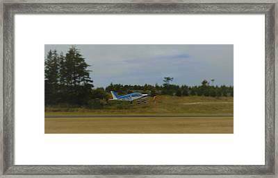 Classic Plane Framed Print by Lisa Schultz