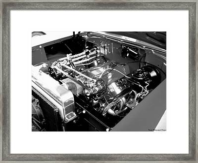 Classic Power Framed Print