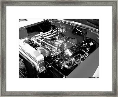 Classic Power Framed Print