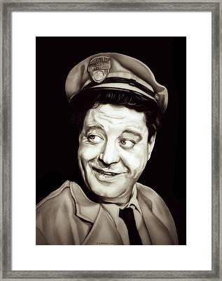 Classic Ralph Kramden Framed Print