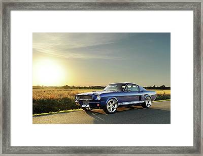 Classic Recreations Shelby Gt350cr Framed Print by Drew Phillips