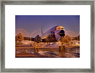 Classic Ride Framed Print by William Wetmore