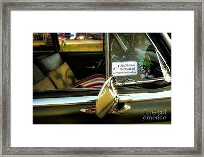 Classic Rod Framed Print by David B Kawchak Custom Classic Photography