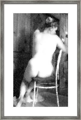 Classic Framed Print by Scarlett Royal