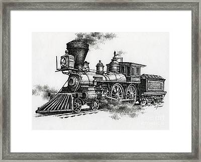 Classic Steam Framed Print by James Williamson