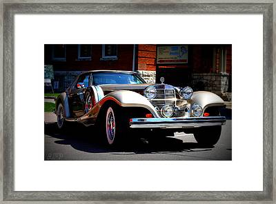 Framed Print featuring the photograph Classic Streets by Al Fritz