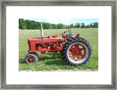 Classic Tractor Framed Print