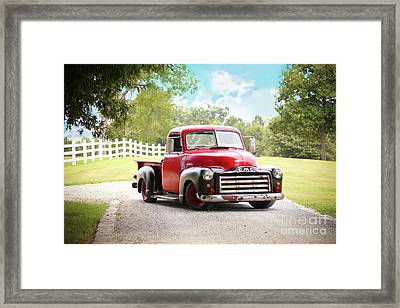 Classic Truck Framed Print