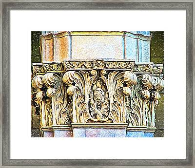 Framed Print featuring the digital art Classic by Wendy J St Christopher