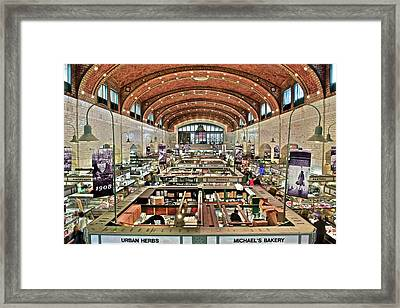 Classic Westside Market Framed Print by Frozen in Time Fine Art Photography