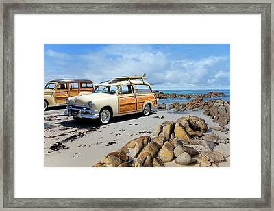 Classic Woodies Framed Print