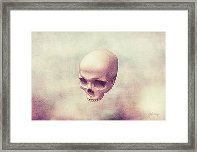 Framed Print featuring the digital art Classical Levity by Joseph Westrupp