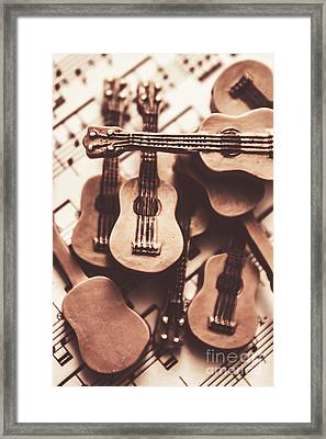 Classical Music Recording Framed Print