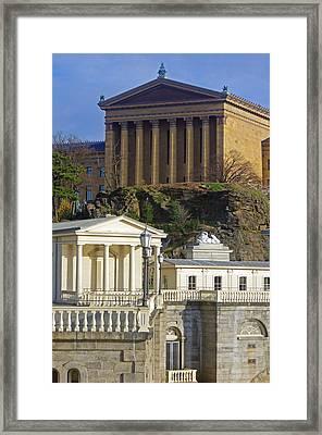 Classical Philadelphia Framed Print by Christopher Ashton