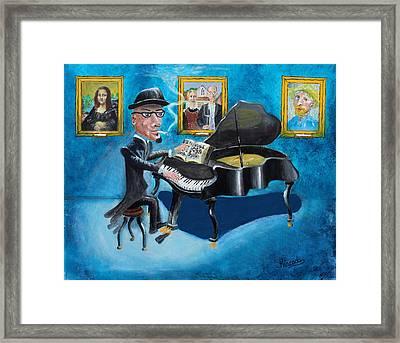 Classical Piano Framed Print by Alan Kincade