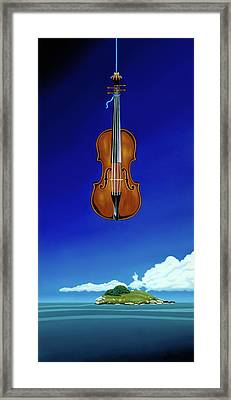 Classical Seascape Framed Print