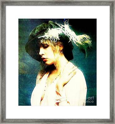 Classical Stevie Framed Print by John Malone