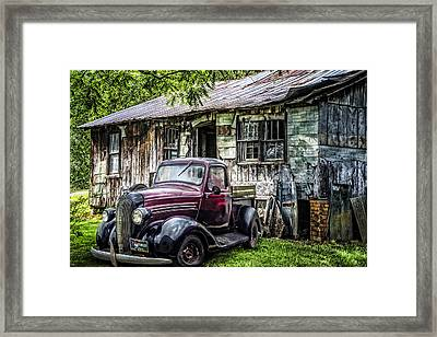 Classically Country Framed Print by Debra and Dave Vanderlaan
