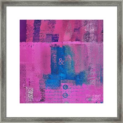 Classico - S0307d Framed Print by Variance Collections