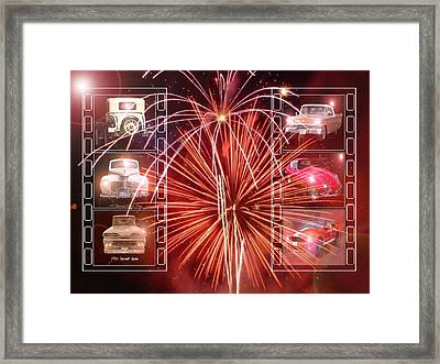 Classics Ablaze Framed Print by David and Lynn Keller
