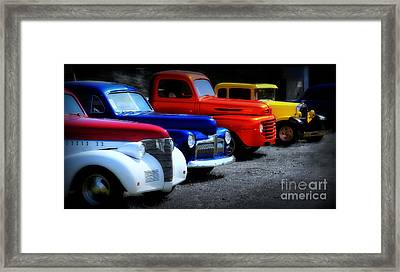 Classics Framed Print by Perry Webster