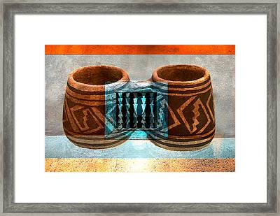 Classsic Designs Of The Southwest Framed Print by David Lee Thompson