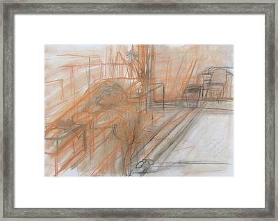 Classwork Framed Print by David Owen