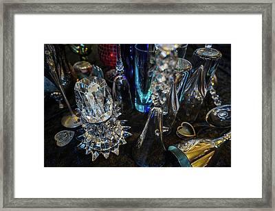 Classy Glass Framed Print