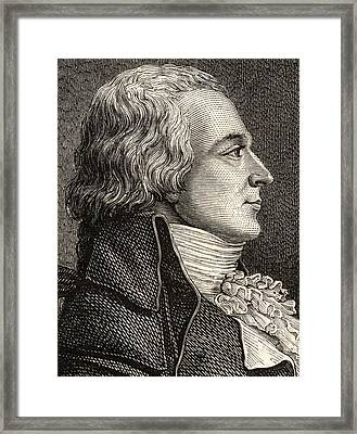 Claude Bazire, 1764-1794,french Lawyer Framed Print