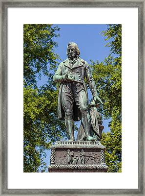 Claude Louis Berthollet Monument Framed Print by Ken Welsh