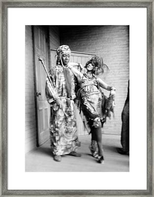 Claude Mckay And Baroness Von Framed Print by Everett