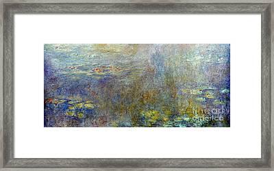 Claude Monet: Waterlilies Framed Print by Granger