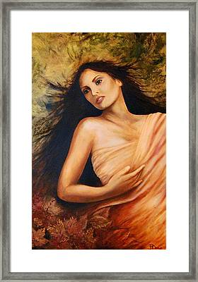 Claudia Framed Print by Patricia Ann Dees