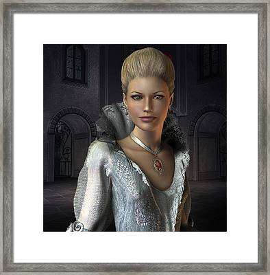 Claudine Framed Print by David Griffith