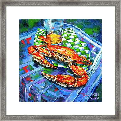 Claw Daddy Framed Print