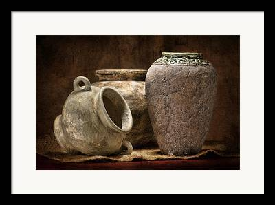 Stoneware Framed Prints