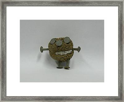 Clayman Framed Print by Ron Hayes