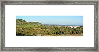Clayton Autumn Farm Framed Print