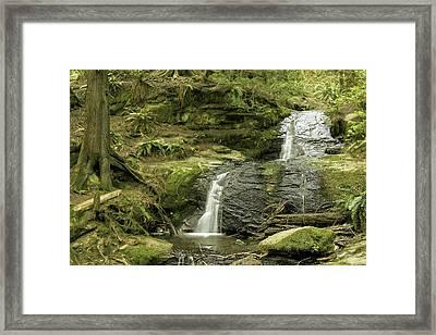 Clayton Beach Falls Framed Print