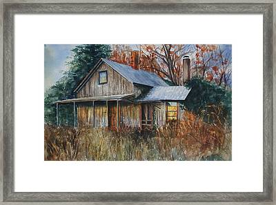 Clayton's Place Framed Print