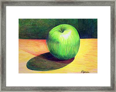 Clean And Crisp Framed Print by Heidi Copeman