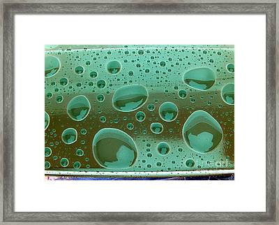 Clean And Green Framed Print by Ron Bissett