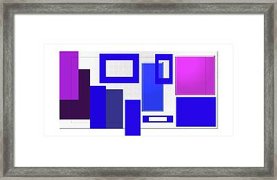 Clean Lines Framed Print