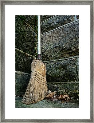 Clean Sweep Framed Print