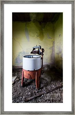 Cleaning Lady Has The Day Off Framed Print by Royce Howland